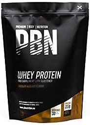 PBN Whey Protein Powder 1kg Chocolate Hazelnut