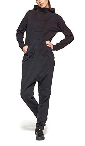 Onepiece Damen Jumpsuit Dodge, Grau (Black), 36 (Herstellergröße: S) - 5