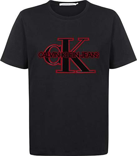 Calvin klein jeans ck monogram t-shirt ck black