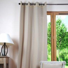 Lovely casa r61490113 duo-tenda in lino/cotone, 135 x 250 cm, colore: giallo