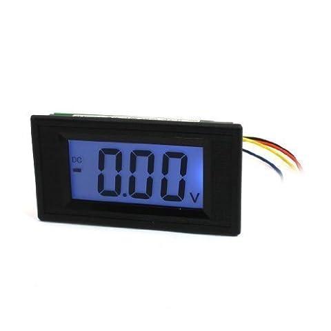 Panel Mount LCD Display Volt Tester Gauge Voltmeter DC 20V