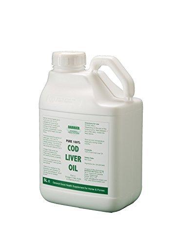 Barrier - olio di fegato di merluzzo x 5