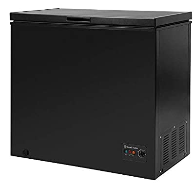 Russell Hobbs RHCF198B Black 198 Litre Chest Freezer by Russell Hobbs, Energy Rating A+ - Free 5 Year Guarantee*