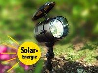 Lunartec Solar-Spotstrahler mit 4 LEDs von Lunartec - Lampenhans.de
