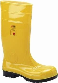 Eurofort Sicherheits Baustiefel Gummistiefel in Übergrößen Gelb 35361 große Herrenschuhe, Größe:50