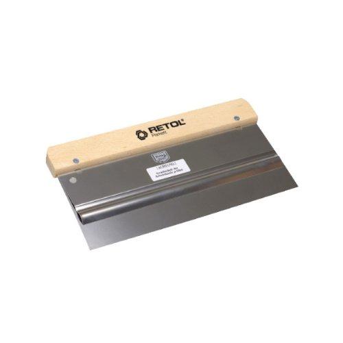 RETOL TOOLS Flächenspachtel, zum Auftrag von Grundierungen, Lacken, Ölen (27 cm)