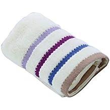 Suave algodón espesar toallas baño Toallas para Lavarse la Cara Débil giro Toallas Mano toallitas Absorción