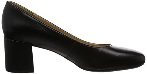 Geox D Audalies Mid A, Scarpe con Tacco Donna Nero (Black)
