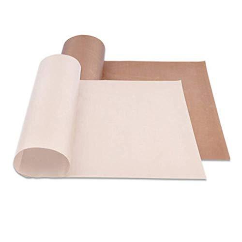 Toomlight riutilizzabile riutilizzabile resistente alle alte temperature foglio di teflon pasticceria forno carta da forno antiaderente resistente al calore pad per barbecue all'aperto