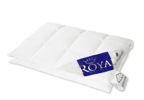 Hanskruchen Royal Luxus Daunendecke, Medium, Baumwolle, 135 x 200 cm