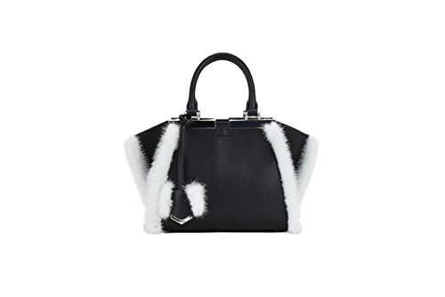 Handtaschen Fendi 3JOURS MINI Damen - Leder (8BH33387SF03RD) (Mini Fendi)