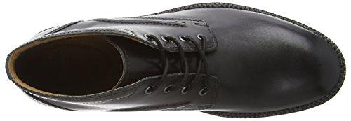 Clarks Bushwick Mid, Herren Kurzschaft Stiefel Schwarz (Black Leather)