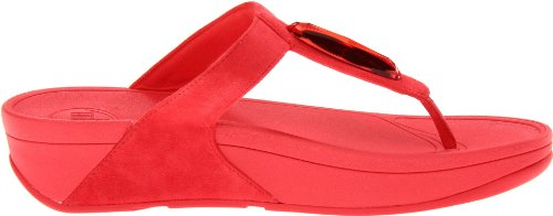FitFlop Chada Red Womens Sandals Hibiscus