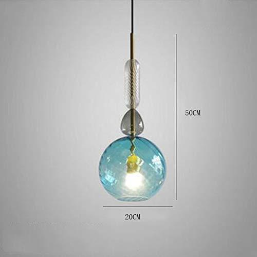 Lichter Beleuchtung Dekoration Pendelleuchte Wohnzimmer Vintage Glasmalerei Candy Hängelampe Esszimmer -