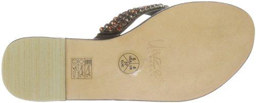 Unze L18297W, Chaussures basses femme Marron (L18297W)