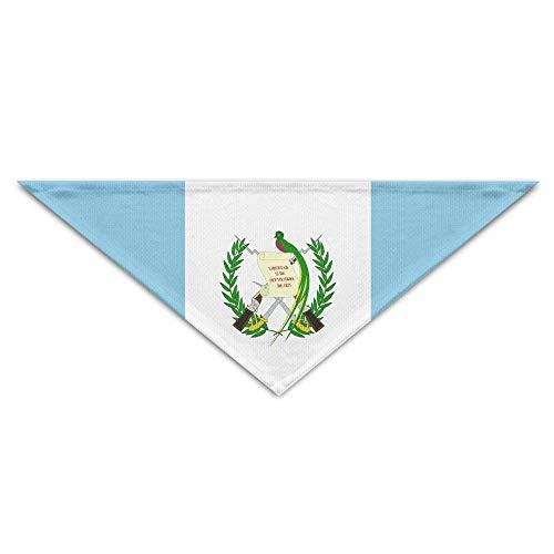 Striped Guatemalan Flag Dog Bandanas Scarves Bibs Scarfs Fashion Basic Dogs Neckerchief Cat Collars Pet Costume Accessory Kerchief