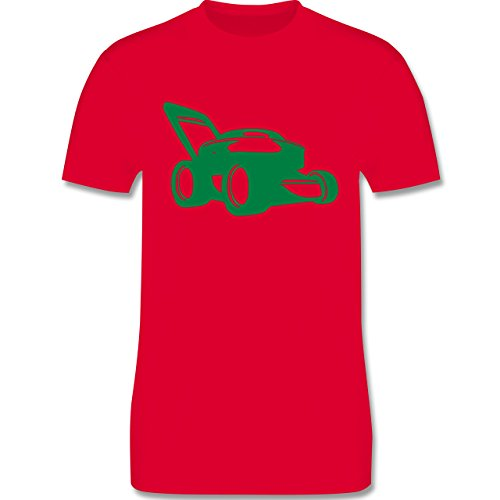 Andere Fahrzeuge - Rasenmäher - Herren Premium T-Shirt Rot