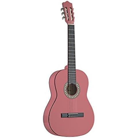 Stagg C510PK 1/2chitarra da concerto, Rosa