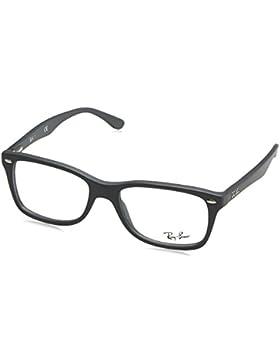 Ray-Ban 5582 5228 Monturas de gafas, Wayfarer, 53, Negro