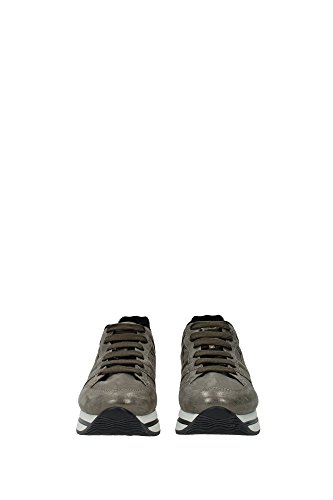 HXW2220T540DRWC407 Hogan Sneakers Femme Chamois Gris Gris