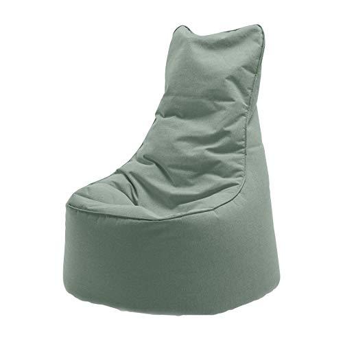 Sitting Bull Chill Seat Outdoor Sitzsack, meeresgrün LxBxH 85x75x100cm Füllung: EPS-Perlen