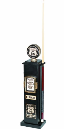 RAM Gameroom Produkte 101,6 cm Route 66 Texaco Gas Pumpe CD und 6 Queue Halterung -