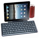OEM PHKEYTABLET - Mini teclado multimedia, con Bluetooth y soporte