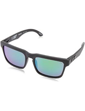 Spy Gafas de sol Casco, unisex, Sonnenbrille HELM, happy bronze polar/Green spectra, talla única