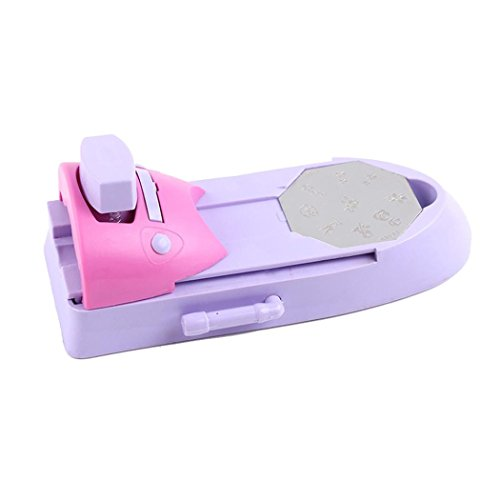 Zarup- Nail Art Printer Drawing Printing Pattern Stamp Manicure Machine Stamper DIY Kit (A)