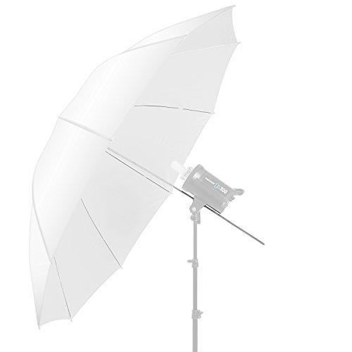 Neewer 152,4 cm para Estudio de fotografía diseño de Gatos con Paraguas translúcido - Blanco