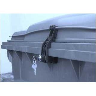 Mülltonnenverschluss für Otto-Container Flachdeckel