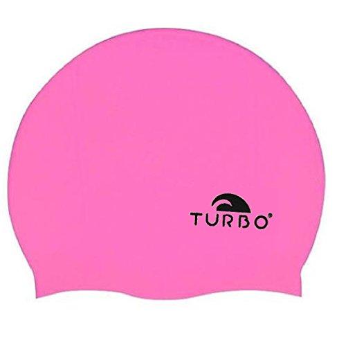 TURBO Badekappe pink aus Silikon Einheitsgröße