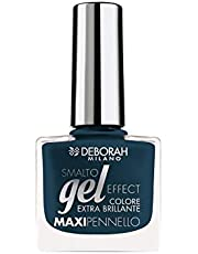 Deborah Milano Gel Effect Nail Polish, 72 Audacious Blue, 8.5ml