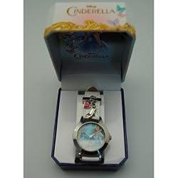 Kids Euroswan - Disney WD16690 Cinderella Live Wrist Watch Color White