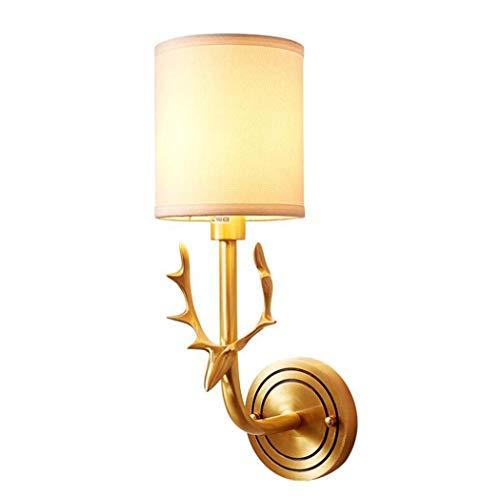 GAOLIQIN Luz de Pared Moderna Lámpara de Pared LED de Tela LED...