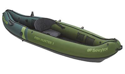 Sevylor Fish Hunter 1 – 1 Person Fishing Boat 289X86 CM Rod (Load Capacity 150 kg by Sevylor