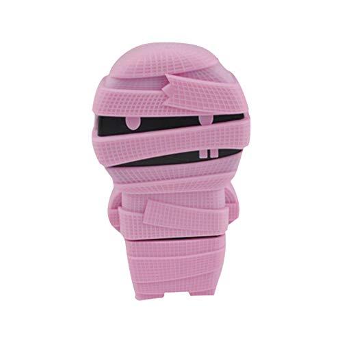 Xiton kawaii handwriting correttore a nastro adesivo decorativo, a forma di mummia per studenti ufficio fornitura rosa rosa