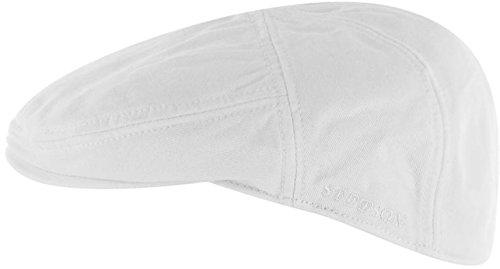 casquette-plate-paradise-cotton-stetson-casquettes-plates-ivy-cap-xl-60-61-blanc
