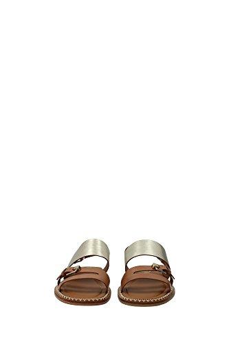 XXW0YL0P420DJV0B0A Tod's Sandale Femme Cuir Marron clair Marron Clair