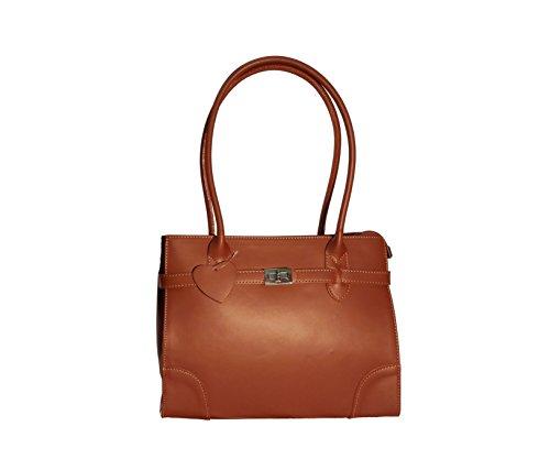 CatInBag , Sac pour femme à porter à l'épaule marron