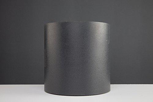 Profi Sichtschutz 35 Meter 1,1 mm PP Kunststoff anthrazit für Gittermatte Zaun Gartenzaun Stahlmattenzaun Gitterzaun