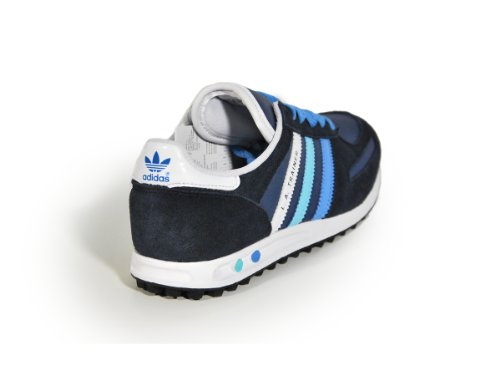 SCARPE LA TRAINER Junior PELLE blu e azzurro 2013 Adidas Originals Blue