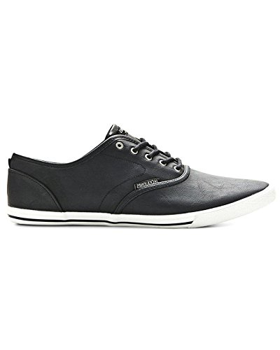 Jack & Jones JJ Spider, Baskets mode homme Black Pu