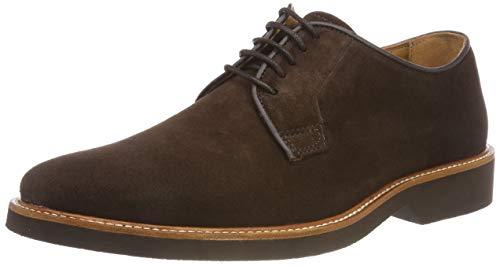 Sebago Suede, Zapatos Cordones Derby Hombre, Marrón