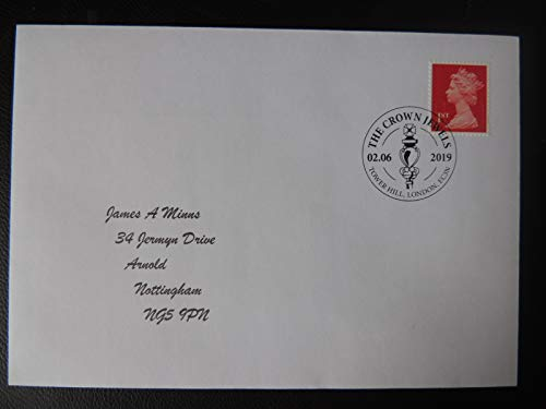 rk The Crown Jewels Tower Hill London EC3N ROYALTY MACE Typed Address JandRStamps ()