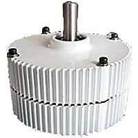 DCHOUSE 12 V 300 W 3 fases magnético permanente DC motor generador de viento motor turbina motor, permanente imán alternador para generador de turbina de viento