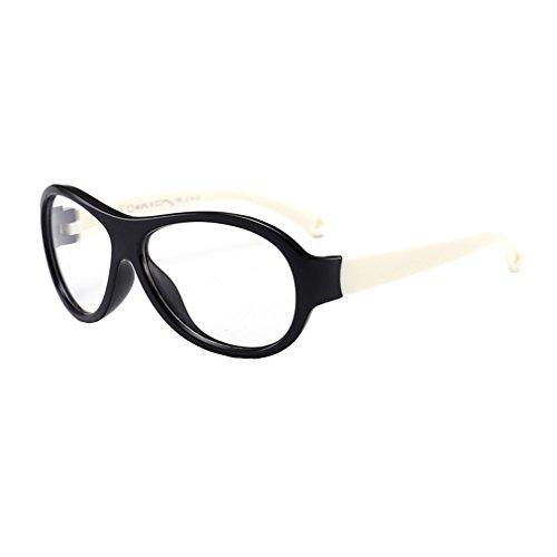Juleya Kinder Gläser Rahmen - TR - Kinder Brillen Clear Lens Retro Reading Eyewear für Mädchen...