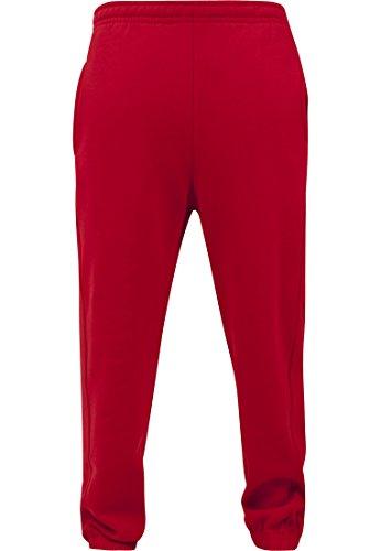 Urban Classics TB014B Herren Sweatpants, Rot (red), ()