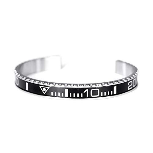 Proton Jewelers Armreif Rolex Submariner schwarz