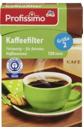 Profissimo Kaffeefilter Gr. 2, 120 St